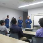 まずは三田市の119番について説明がありました。