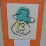 一年生の作品です。可愛いですね。