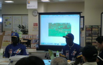 世界あれこれミニトーク 「三田で野球を学びたい」
