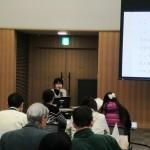 まずは兵庫県内の外国人の就職状況などの基礎知識を学びました。