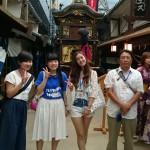 天神橋筋六丁目の今昔館。関西に住んでいても知りませんでした。外国の方が多く、大阪の古い街並みを再現していて、見ごたえのある施設でした。海外の方は着物を着て楽しんでました。
