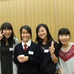 台湾からの留学生チン。ユアンさん