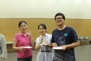 中国から関学に来てます。 教え子です。