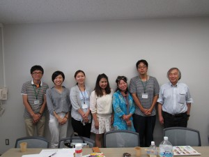 NGO神戸外国人救援ネットの皆さん