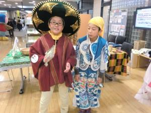 メキシコとボリビアの少年?たち
