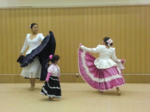 ペルーのダンスです 迫力ありました