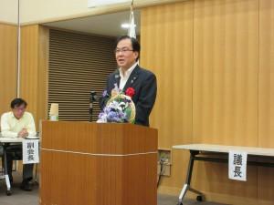 森哲男三田市長より祝辞をいただきました。