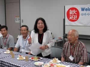 ようこそ三田へ 日本の文化に触れたり日本の食事を満喫してください