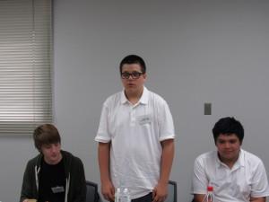 チェイス・クラーク君 学校で日本語を勉強してます。 三田の暮らしが楽しみです