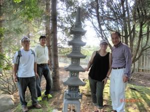 Japanese Garden in CWU
