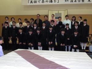 湊川短期大学、三田松聖高校のみなさん ありがとうございました