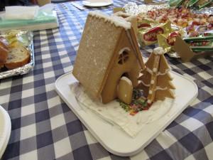 かわいい お菓子のお家です
