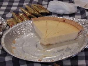 チーズケーキが人気です