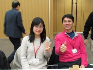 中国です 今、父が遊びに来てます 父は卓球で5年間世界チャンピョンでした