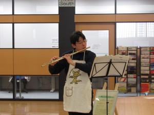 フルートの演奏も楽しめました