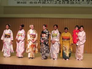 きれいですね~! 日本文化を楽しみました