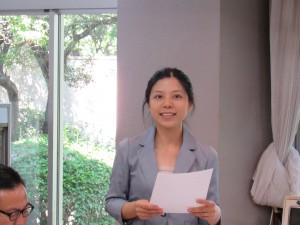 職員の朱(シュ)さんから中国語のミニ講座