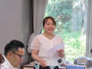 職員のユンさんからベトナム語のミニ講座