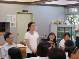 中国の研修生との交流会