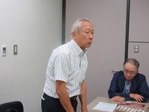 団長の西上俊彦SIA副会長