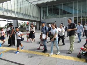 阪神淡路大震災の事を学びます