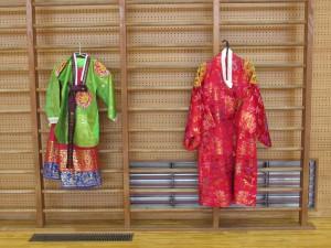 韓国の王と王妃の着物です