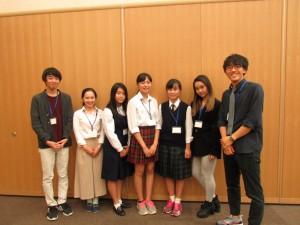 今回運営していただいた関西学院MIOの皆さんと高校生の皆さんです ありがとうございました