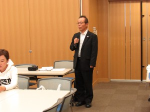 JR西日本社会財団 小林様のご挨拶で始まりました