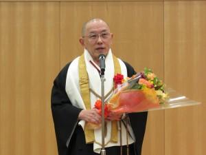 貢献賞は私が貰ったのではなく花山院が貰ったのです 海外の皆さんが花山院に来るだけで感激されます