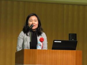 在大阪ベトナム総領事館 グエン・ティ・ト・ガ領事